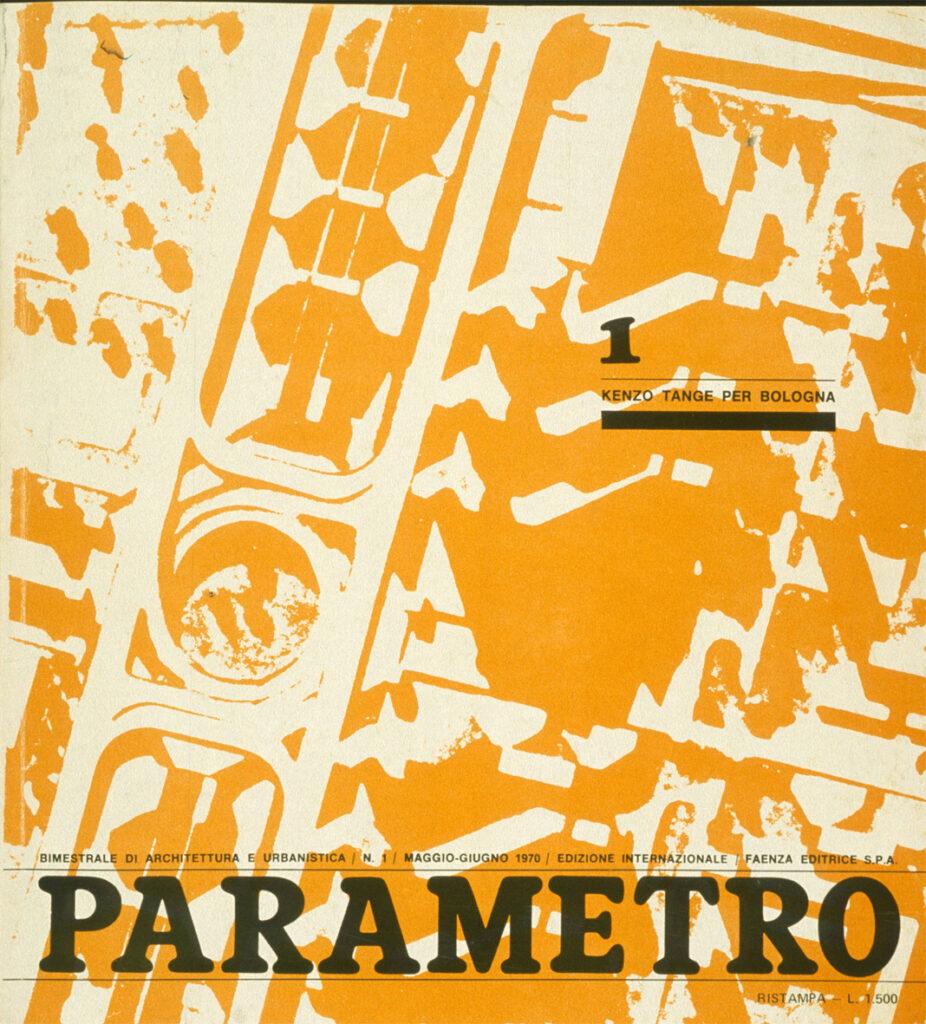 35 anni di Parametro rivista architettura Bologna ufficio stampa