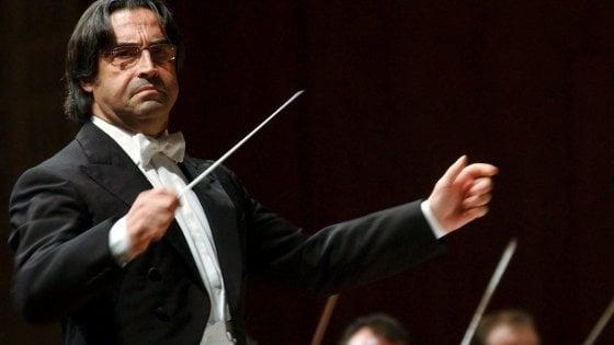Riccardo Muti primo concerto a Ravenna