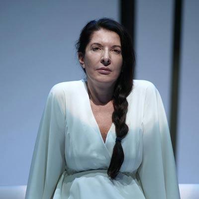 Marina Abramovic Lady Performance Bologna ufficio stampa arte
