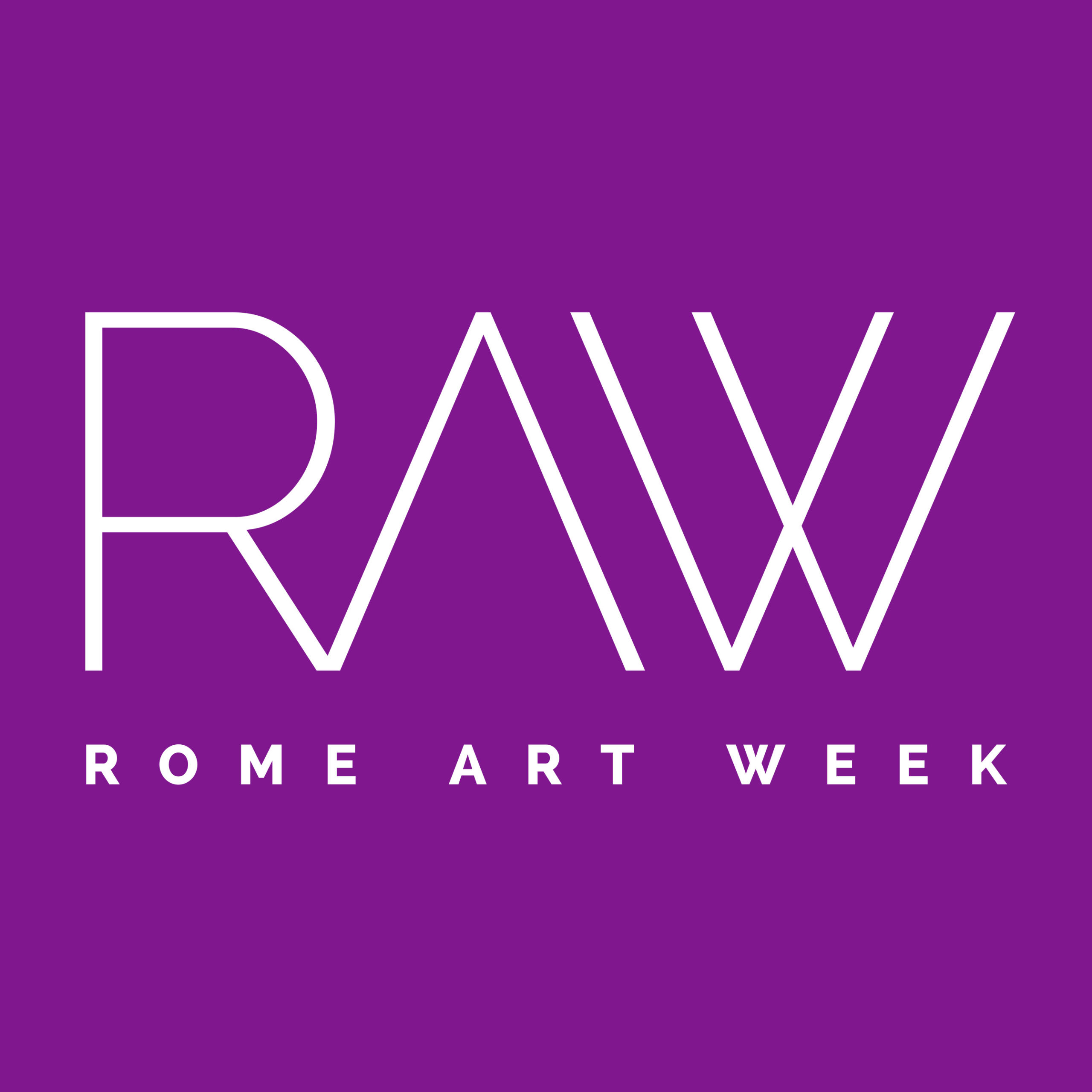 Logo Rome Art Week 2020