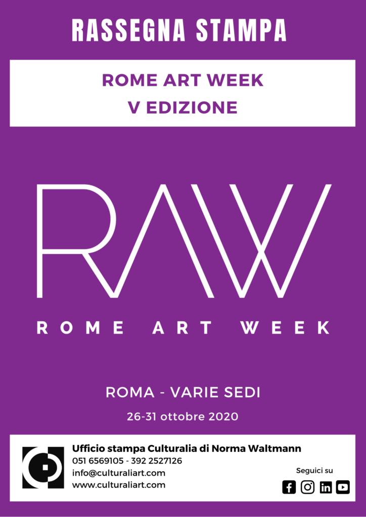 Rassegna stampa Rome Art Week 2020