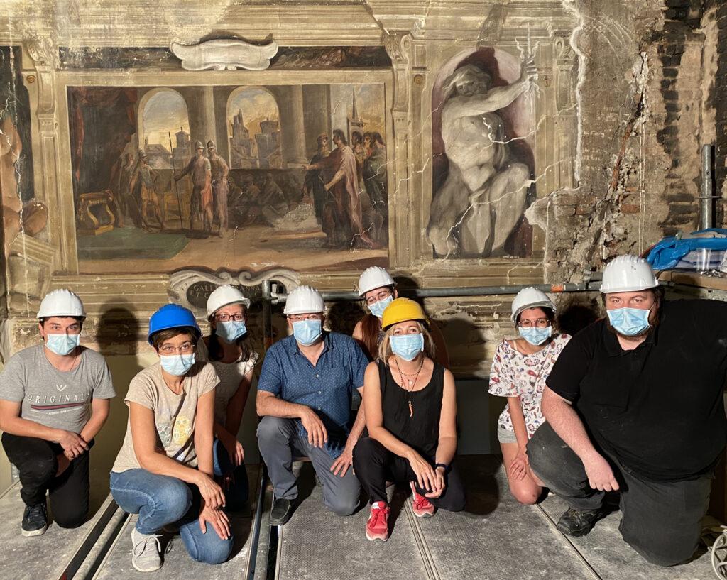 Pitture Murali del Guercino a Casa Provenzali autunno guerciniano 2020-2021 agenzia di comunicazione