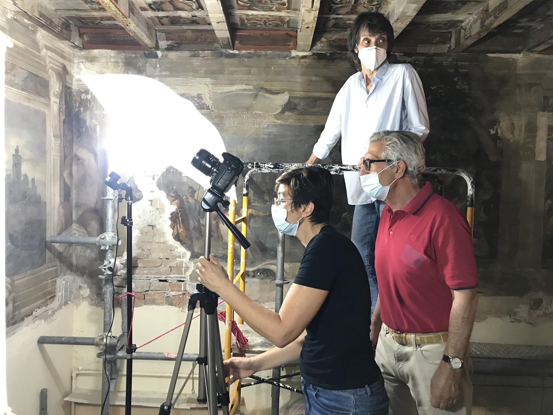 Pitture Murali del Guercino a Casa Provenzali autunno guerciniano 2020-2021 ufficio stampa arte