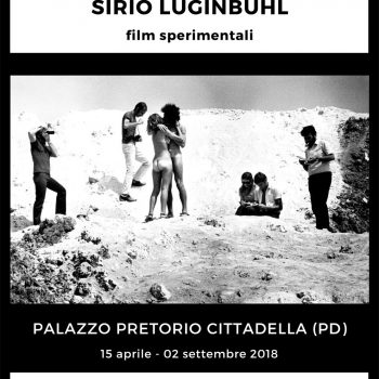 Sirio Luginbühl: film sperimentali. Gli anni della contestazione