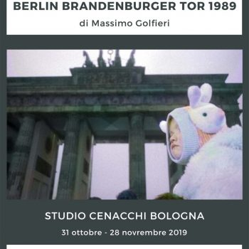 BERLIN BRANDENBURGER TOR 1989 di Massimo Golfieri