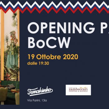 BOLOGNA COCTAIL WEEK 2020 - INVITO OPENING PARTY TEMAKINHO
