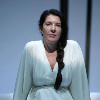 "Incontro con Marina Abramovic ""Lady Performance"