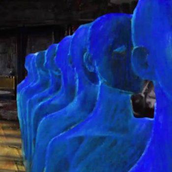 BLUE UNNATURAL - video d'artista di Marco Bolognesi
