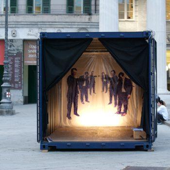 Ecosistemi container Genova ufficio stampa arte